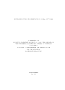 Phd thesis social networking